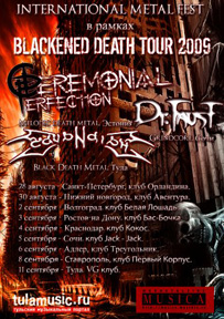 Blackened Death Tour 2009